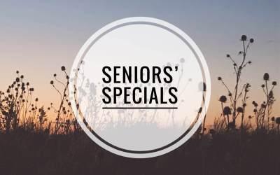Seniors' Specials