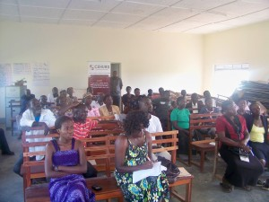Participants during the MDG community consultation in Gulu District Northern Uganda