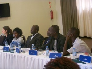 Some of the participants at the magistrates forum