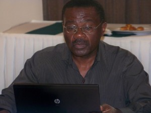 Prof. Ben Twinomugisha at the forum