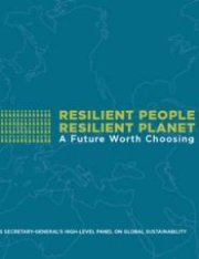 Resilient People Resilient Planet: a Future Worth Choosing