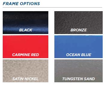 Broda Synthesis V4 frame options