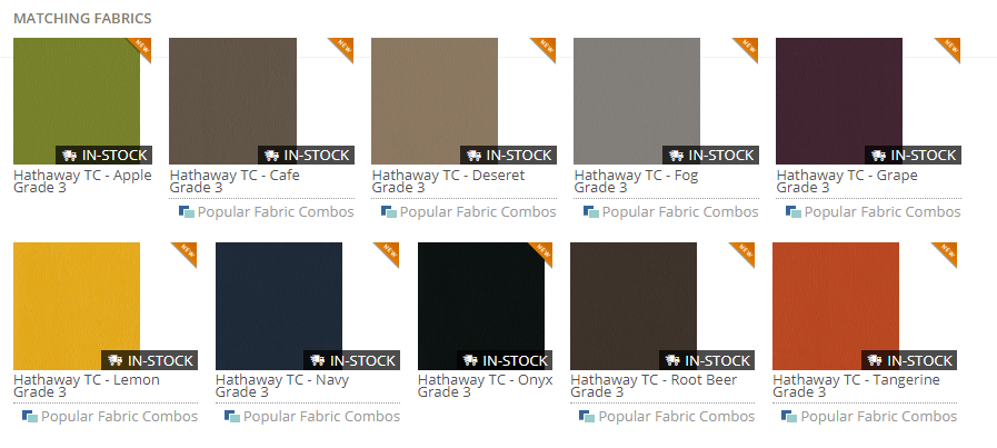 Vinyl Stock Colors