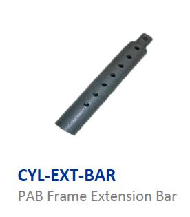 Cylinder extension bar