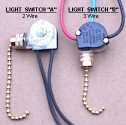 Ceiling fan parts  Pull chain switch for ceiling fans