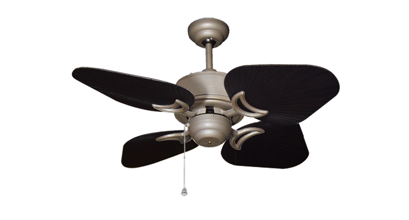 35 inch Bombay Antique Bronze and Oil Rubbed Bronze Ceiling Fan