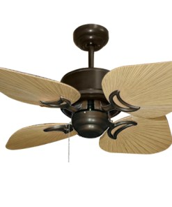 35 inch Bombay Oil Rubbed Bronze and Tan Ceiling Fan