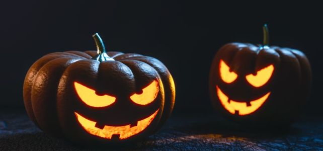 Fiesta de Halloween y del otoño