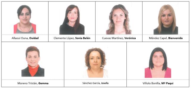 Candidatas definitivas a Consejo Escolar por el sector madres y padres