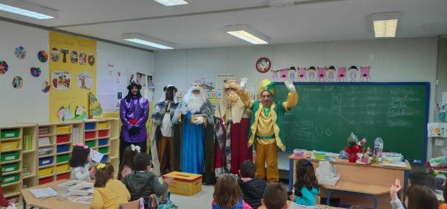 Los Reyes Magos visitan el Concordia