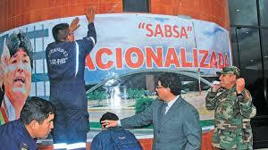 Conflicto de intereses. Sobre la nacionalización de SABSA