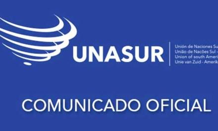 Comunicado de UNASUR sobre Decreto Ejecutivo de EEUU sobre Veneuzela