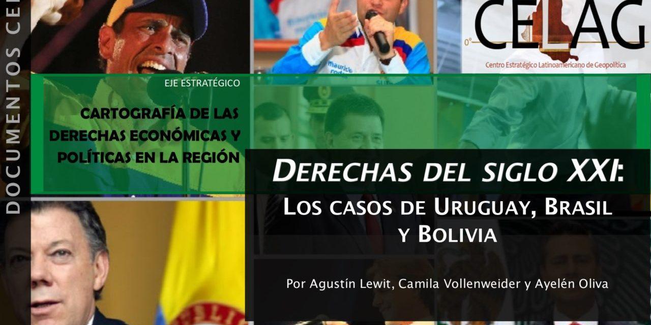 Derechas del siglo XXI: los casos de Uruguay, Brasil y Bolivia (por Agustín Lewit, Camila Vollenweider y Ayelén Oliva)