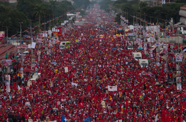 Venezuela, desde hace años, grita libertad (por Alfredo Serrano Mancilla)
