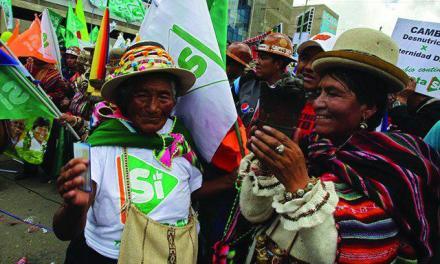 Una primera lectura provisional del Referéndum en Bolivia (por Sergio Martín-Carrillo)