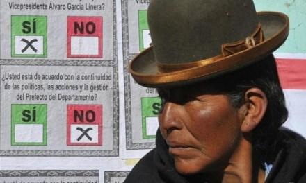 El NO de la oposición en Bolivia (por Teresa Morales Olivera)