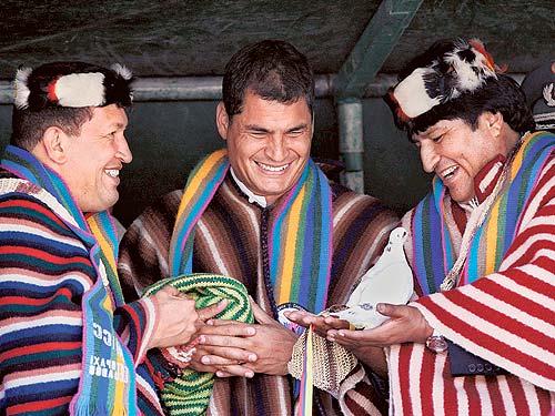 El trío constituyente de América latina (por Alfredo Serrano Mancilla)
