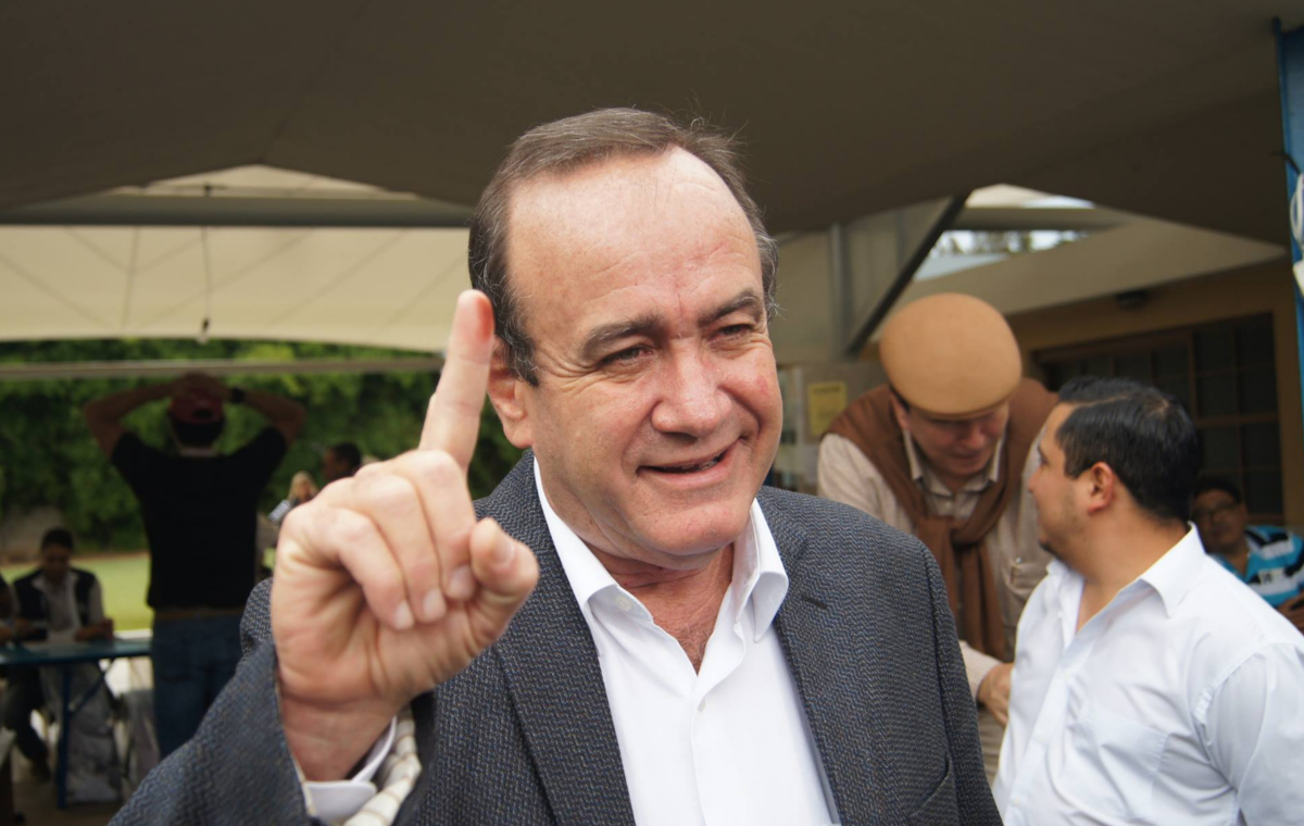 Alejandro Giammattei (Guatemala)