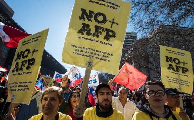 Chile: El debate por las AFP