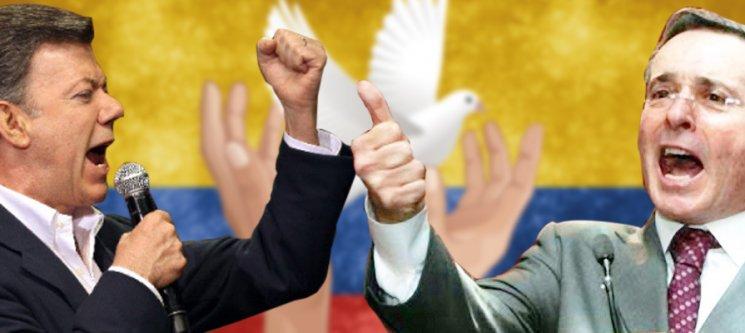 Pax americana: Uribe vs. Santos