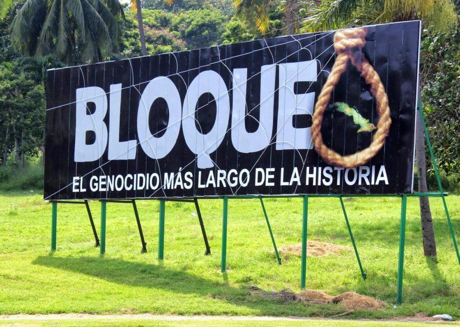 Informe: el Bloqueo Económico contra Cuba