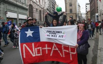 Chile: donde jubilarse no es sinónimo de júbilo