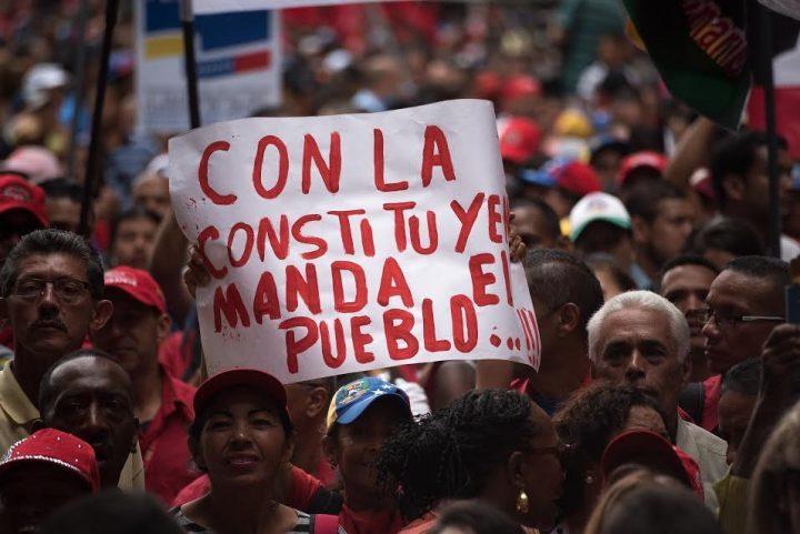 Venezuela: coup de projecteur sur les zones d´ombre médiatiques Venezuela-constituyente-720x481