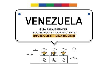Venezuela camino a la Constituyente [Infografía]