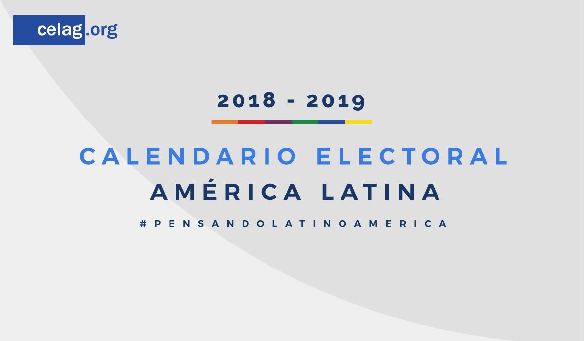 Calendario Electoral 2018-2019