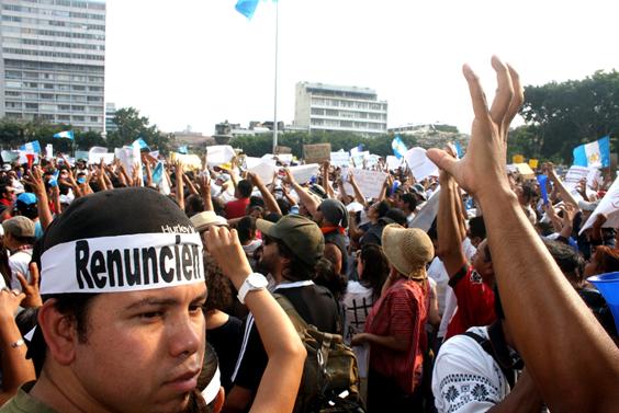 Guatemala, el cambio que no fue