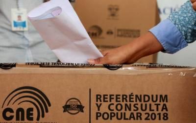 Informe post electoral consulta popular Ecuador