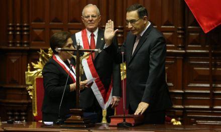 Perú, el desenlace: Martín Alberto Vizcarra Cornejo, nuevo presidente