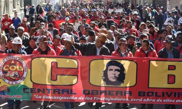 Nuevas formas de organización del trabajo en Bolivia