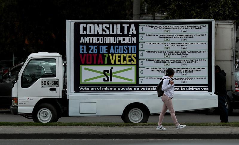 Escenarios de la Consulta Anticorrupción en Colombia
