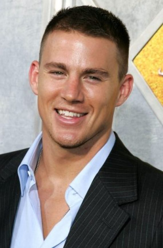 Channing Tatum Chest Biceps size