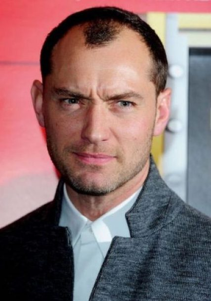 Jude Law height and weight 2016