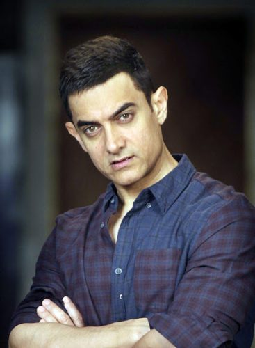 Aamir Khan Chest Biceps size