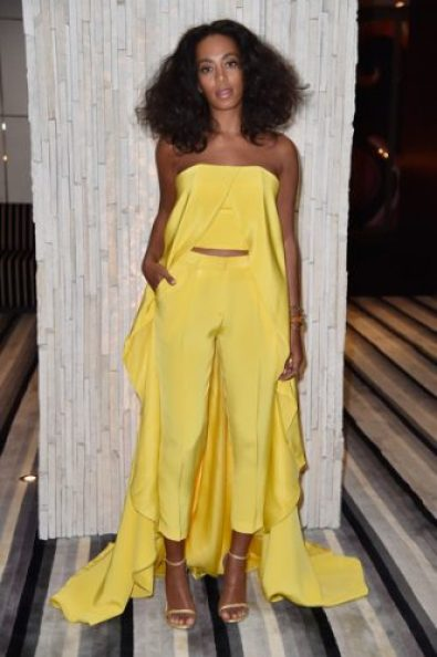Solange Knowles height and weight 2016