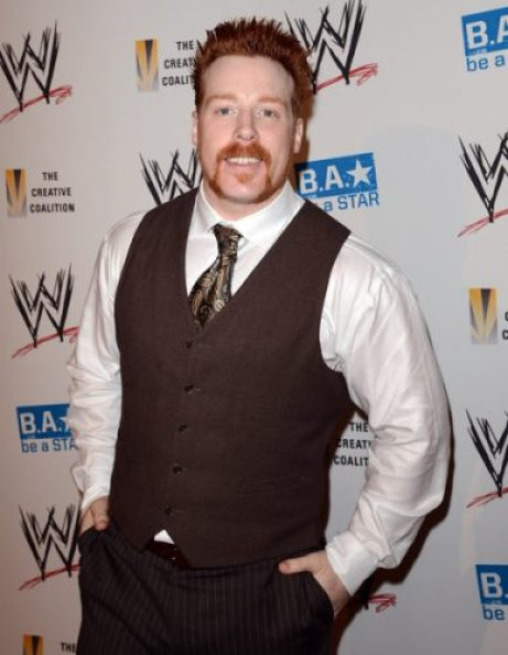 Sheamus Chest Biceps size