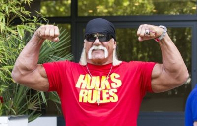 Hulk Hogan Chest Biceps size