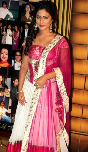 Hina Khan Measurements, Height, Weight, Bra Size, Age, Wiki