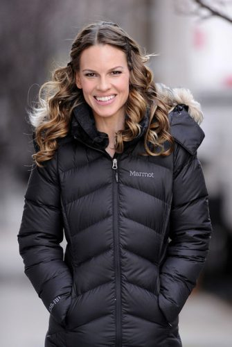 Hilary Swank height and weight