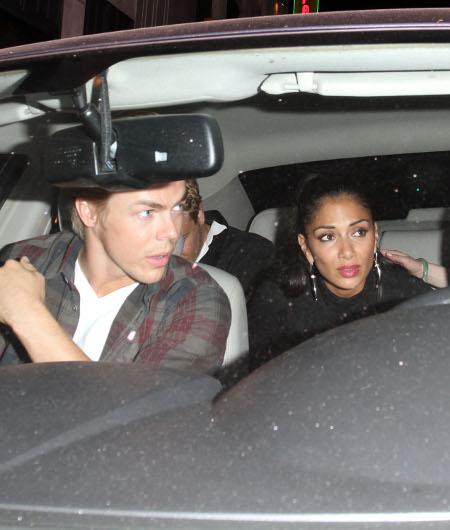 New Couple Alert Derek Hough And Nicole Scherzinger