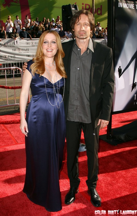 The X Files I Want To Believe Premiere In Hollywood Celeb Dirty Laundry