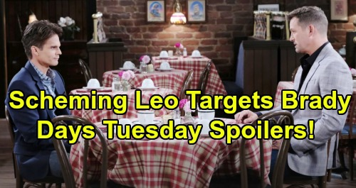 Our Lives Are In Danger Mother With >> Days Of Our Lives Spoilers Tuesday March 19 Ciara Lands In Grave