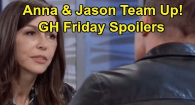 General Hospital Spoilers: Friday, November 22 - Anna & Jason Team Up - Sonny Lashes Out at Carly - Mike's Heartbreaking Decline