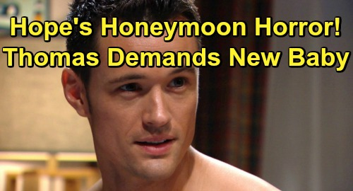 The Bold And The Beautiful Spoilers Hope S Honeymoon Horror