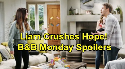 The Bold and the Beautiful Spoilers: Monday, October 21 - Liam Crushes Hope, Steffy Gets Upper Hand - Thomas Big Reveal