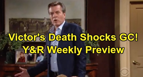 The Young and the Restless Spoilers: Week of September 16 Preview - Genoa City Reacts to Victor