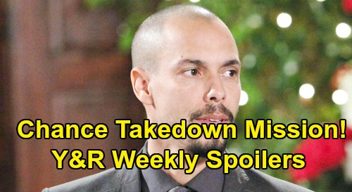 The Young and the Restless Spoilers: Week of September 16 - Chance Takedown Mission - Jack Road Trip Surprise - Nikki Wants Justice